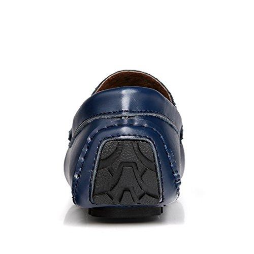 Miyoopark UK-XCR1735, Herren Mokkasins, Blau - Dunkelblau - Größe: 38 EU