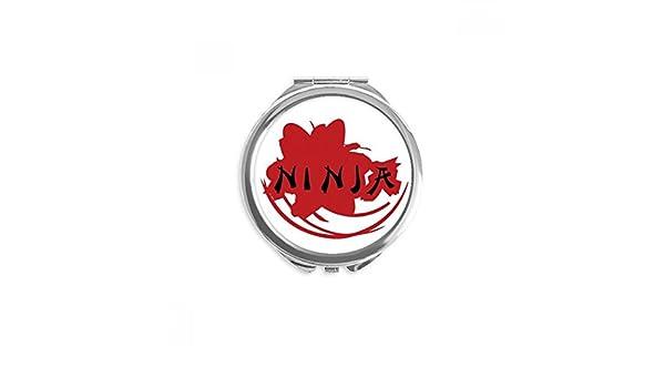 DIYthinker Palabras Japón Sakura Ninja Silueta espejo ...
