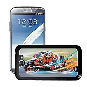 GONGXI-Motocycle patrón caso del efecto 3d para Samsung N7100 nota 2
