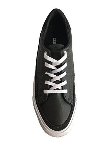 Converse Unisex Damen Herren Sneaker Gr. 38 Jack Purcell II Leder Schwarz Lt *** JP II Ox Storm Wind/W *** 149943C