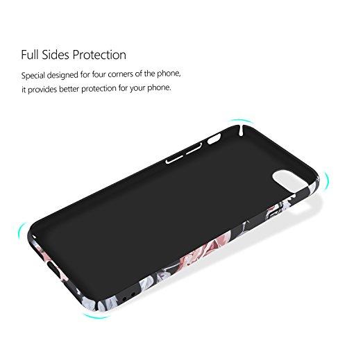 """iPhone 7 Hülle , ivencase Hülle iPhone 7 Hochwertigem Stoßfest Anti-Fingerabdruck Anti-Scratch FeinMatt FederLeicht Hülle Bumper Cover Schutz Tasche Schale Hard case für iPhone 7 4.7"""""""