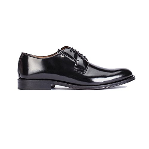 Martinelli Metropolitan 1115-0080AYM, blucher negro para hombre (44)