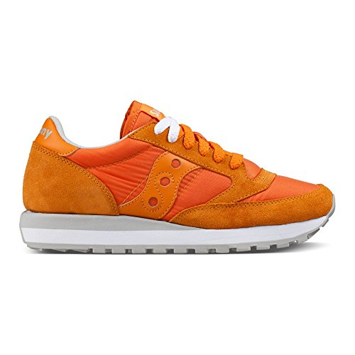 Original en Chaussures Beige Orange Daim Sneakers Saucony Femme Jazz Baskets xFBnRwqw0