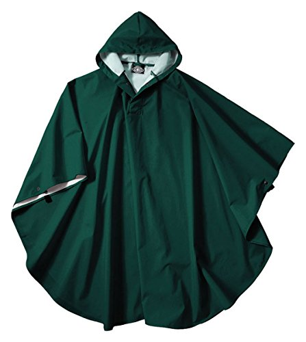 Charles River Apparel 8709 Youth Pacific Poncho, Forest, One Size (Charles Hoody)
