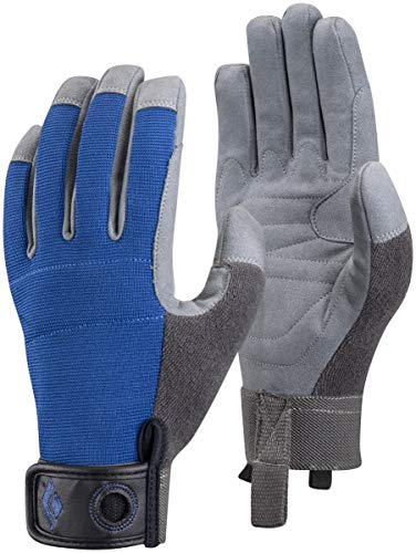 Black Diamond Crag Climbing Gloves, Cobalt, Large
