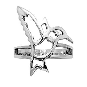Openwork Hummingbird Ring (5)