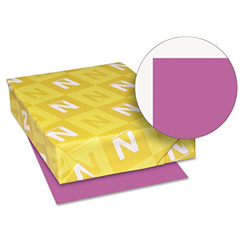 (Neenah Paper 22871 Color Cardstock, 65lb, 8 1/2 x 11, Planetary Purple, 250 Sheets)