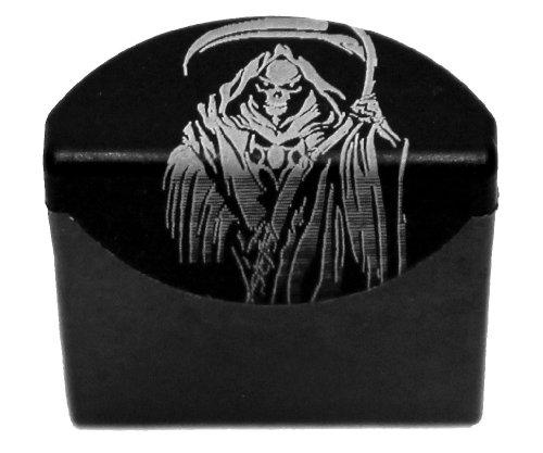 Sure Plug Gen 4-5 Laser Engraved Grim Reaper v2 - Designed for Glock 17, 19, 22, 23, 31, 32, 34, and 35.