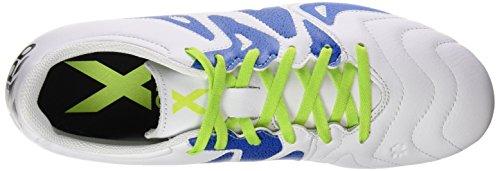 Chaussures X Ftwbla Vert adidas Blanc de AG FG Football Negbas Homme Seliso Noir Leather Compétition 15 3 YwBRxdT