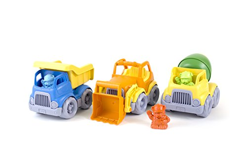 Truck Eco Excavator - Green Toys Construction Vehicle (3 Pack)