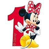 Kerze 1 Minnie Mouse Cafe
