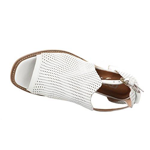 Nu Mjus Femme Pieds Blanc Blanc wxqHS7