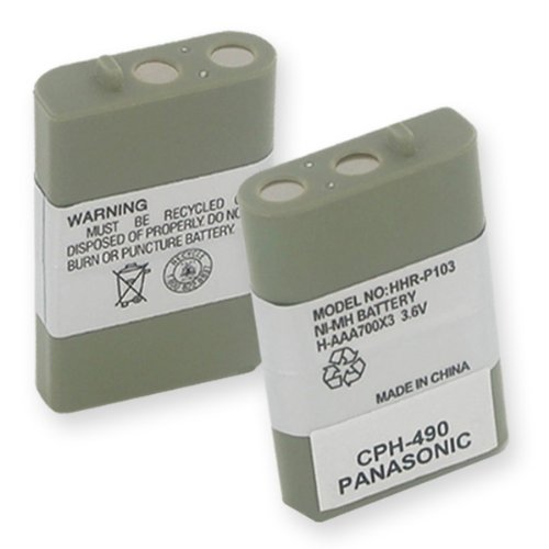 700mA, 3.6V Replacement NiMH Battery for AT-T/Lucent EP59...