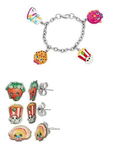 shopkin-stainless-steel-earring-sets-shopkins-painted-character-charm-bracelets