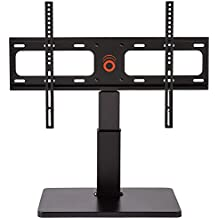 """ECHOGEAR Universal TV Swivel Stand for 32"""" to 60"""" TVs - Improves Stability Plus Adds 75º of Swivel and 4"""" of Height Adjust For Better Viewing Angles - EGTV"""