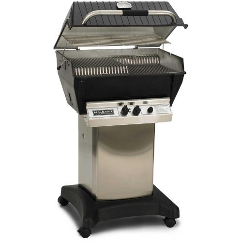 Broilmaster P3-xfn Premium Natural Gas Grill On Stainless Steel Cart
