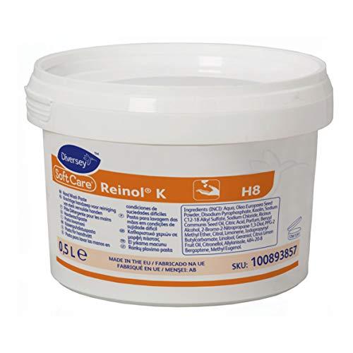 Diversey 100893857 Soft Care ReinOL K, handwaspasta voor gemiddeld tot sterk vuil, 0,5 l