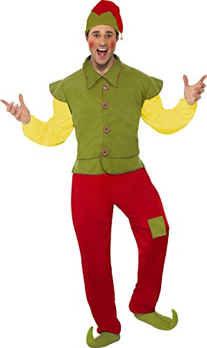 Smiffys Cool Yule Elf Mens Costume ()