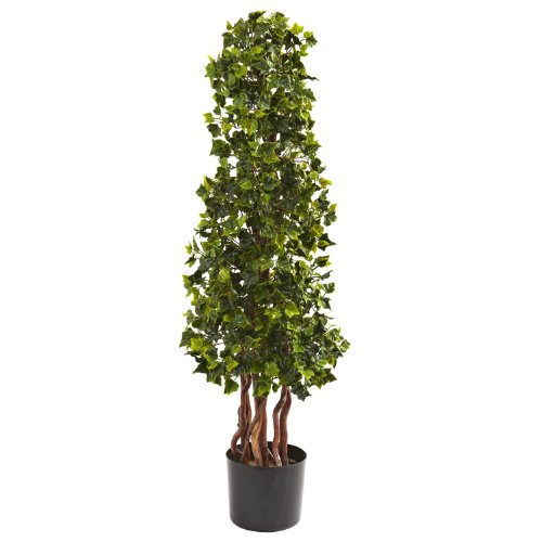3.5 English Ivy Spiral UV Resistant (In-Door/Out-Door) by (Ivy Spiral Topiary)