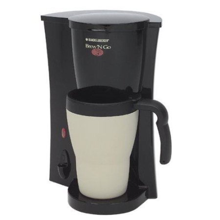 Black & Decker DCM18 Brew 'N Go Coffeemaker