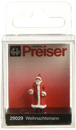 Santa Claus Train - Preiser 29029 Santa Claus in Long Coat HO Model Figure