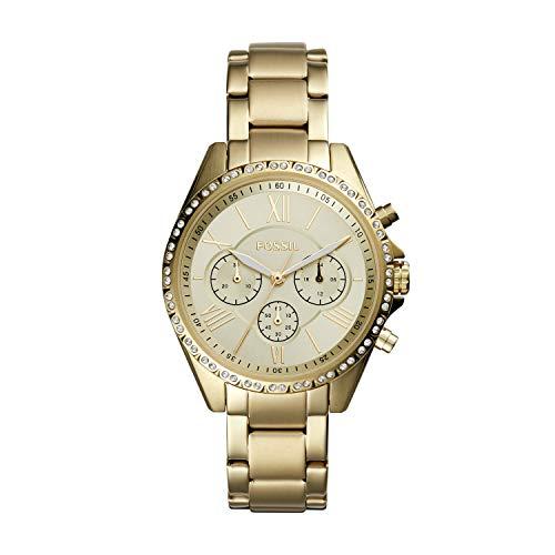 Fossil Women's Modern Courier Stainless Steel Chronograph Dress Quartz Watch