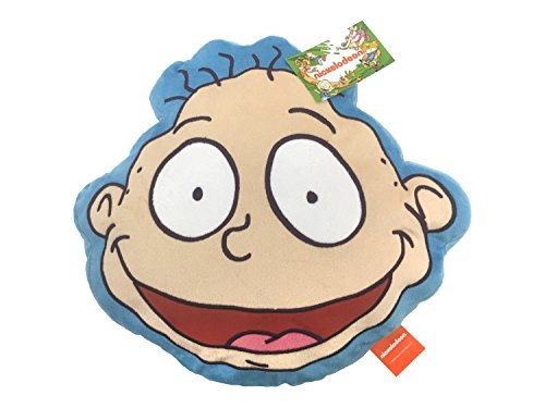 Jay Franco Nick 90's Pickles Face Pillow, Rugrats Tommy