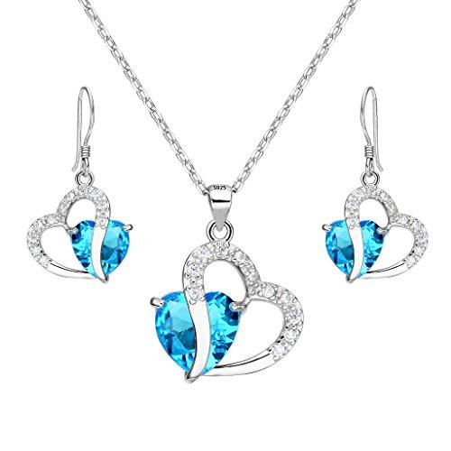 Genuine Blue Zircon Ring - 2