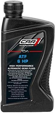 Car1 Automatik Getriebeöl Atf 6 Hp High Performance Getriebe Öl Automatic Transmission Fluid Gelb Braun 1l Auto