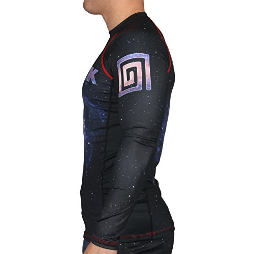 Hypnotik Galaxy 500 Rashguard - Black - 4X-Large