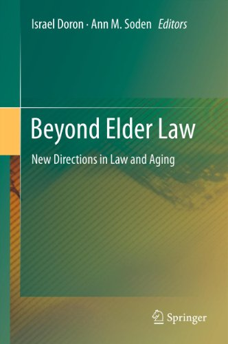 Download Beyond Elder Law: New Directions in Law and Aging Pdf