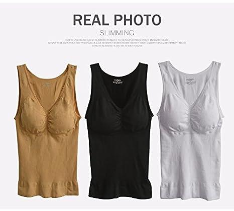 53b25465ac 2018 New Comfortable Cami Body Shaper By Genie Bra TV ShapeWear Tank Top  Slimming Tank Women