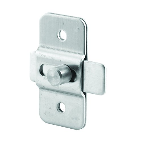 Sentry Supply 650-7996 Surface Slide Latch, Stamped Stainless Steel, Satin Finish, Pack of 1