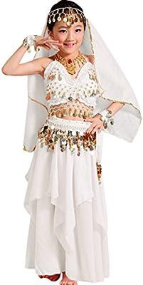 Astage Niña Traje Vestido Danza Vientre Halloween Falda Camiseta ...