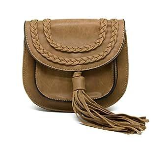 Kathy Ireland Bag For Women,Brown - Crossbody Bags