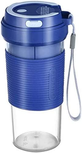 XYNB Licuadora portátil, Copa exprimidora, Exprimidor eléctrico de Frutas, Operación con un botón Operación fácil, Batería de Gran Capacidad USB Recargable, Impermeable, Azul: Amazon.es
