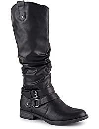 Womens Madison Equestrian Slouch Boot Shoes