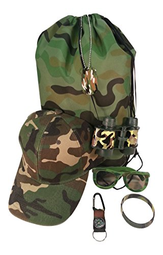 [Kids Camouflage Toy Bundle] (Army Dog Costumes)