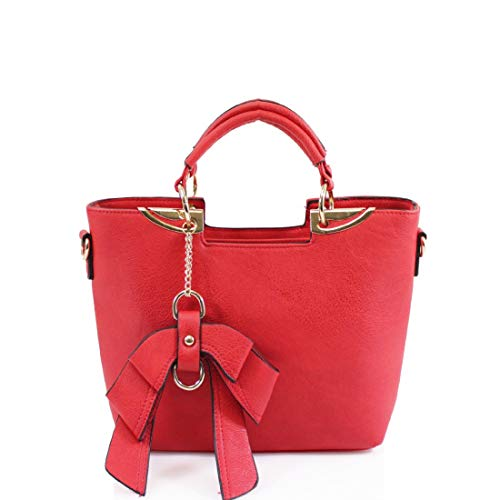 Mujer Al M With Otra Hombro Bolso Style Red De Para Piel Riddled qAvwtzRxq