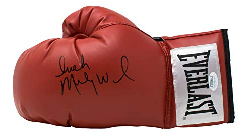 Irish Micky Ward Signed Red Everlast Left Hand Boxing Glove JSA