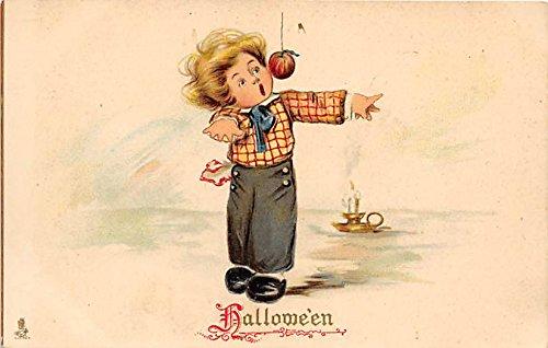 Raphael Tuck & Sons Series no. 803 Halloween Post Card Halloween Postcard Old Vintage Post Card