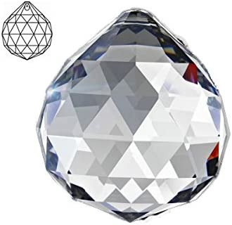 Set of 10-38 mm Asfour Crystal Clear Pearshape Chandelier Crystal Parts,1 Hole