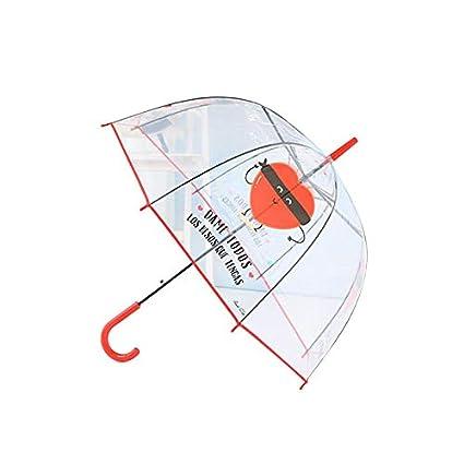 Sombrilla Transparente Paraguas para Niños De Dibujos ...