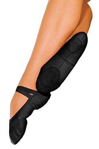 So Danca–Zapatillas de ballet piel Zapatos Danza negro