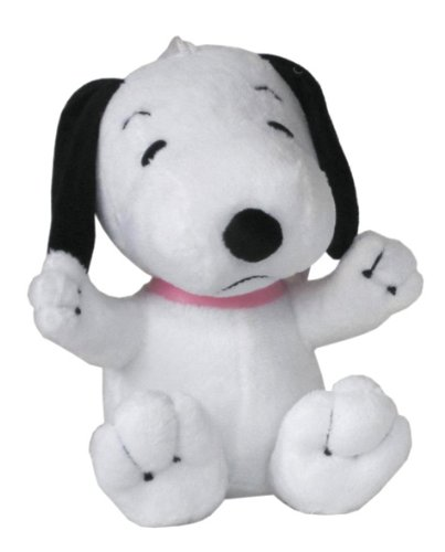 Amazon Com 6in Peanuts Snoopy Plush Doll Stuffed Toy Toys Games