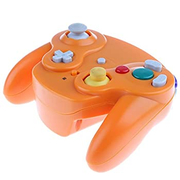 Wireless 2.4ghz Controller Gamepad For Nintendo Gamecube & Nintendo Wii (Spice Orange) 2