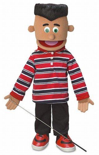 25'' Jose, Hispanic Boy, Full Body, Ventriloquist Style Puppet