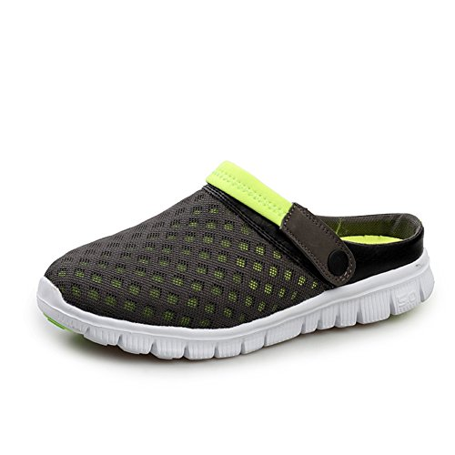 Men Sandal,Nasonberg Unisex Men Women Breathable Mesh Sandals Beach Aqua,Walking,Anti-Slip Slippers Yellow