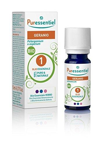 PURESSENTIEL HUILE ESSENTIELLE G?ranium BIO (5 ml) by Puressentiel
