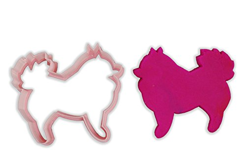 Pomeranian Dog Breed Cookie Cutter - LARGE - 4 Inches